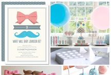 ~~ Gender Reveal Party Idea ~~ / Best Gender Reveal Party Ideas and Decor / by All Diaper Cakes