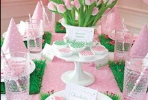 ~ Pink Theme Baby Shower ~ / by All Diaper Cakes