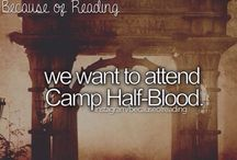 Welcome to Camp-Half Blood / by Leann Covington