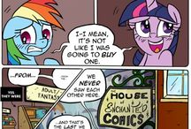MLP Comics / MLP COMICS. Also sorry if u see things that are not MLP comics I had no were else to pin them. / by Pixel Art