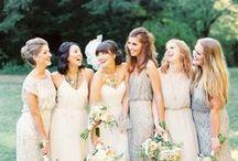 WEDDING | BRIDESMAIDS DRESSES / by The Boutique Wedding Co. www.boutiqueweddingsinspain.com