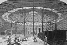 Roundhouse | History / The Roundhouse was built in 1846 as a steam-engine repair shed. However, its life as an engine shed didn't last long and it was soon became a bonded warehouse for Gilbey's Gin and then a cutting-edge arts venue, Centre 42 from 1964 - 1983.  In 2004 the Roundhouse closed for 30m redevelopment, reopening in 2006 as the venue it is today. / by Roundhouse