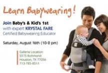 All About Baby's 1st / Find out about all our upcoming sales and events!  / by Baby's & Kid's 1st