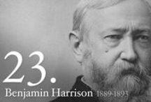 President BENJAMIN HARRISON  / by Deborah Kinsland