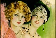 Fitzgerald flappers  / by Emily Rose Spreadborough