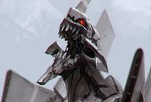01101101 01100101 01100011 01101000 01110011 / translation for meatbags: MECHS / by JOhNo!