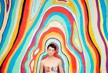 ☼ Mode Colors / Gammes colorées dans l'univers de la Mode / by Anais Bazaline