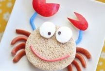 Summer Food / Fun and cute ideas for kid friendly summer snacks #summer #kids #snacks / by Handpressions