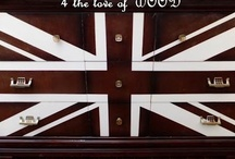 Union Jack / by 4 the love of WOOD