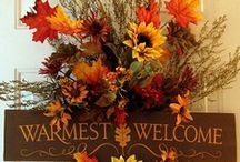 Everyday/Holiday Decor for your front door. / by Lonna Dickey