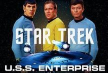 STAR TREK TOS / THE TV SERIES THAT STARTED IT ALL / by Rick Hoffman