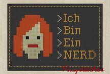 Ich Bin Ein NERD / by Victoria Kathryn Presley