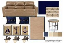 "e-Decorating - Online Design Boards - Mood Boards - edecorating / We create ""Real Rooms for Real People™!  They're for people just like you and just like me. People who live in real  homes, living real  lives and definitely living with real budgets.  / by Elayne Forgie"