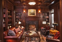 My Ideal Study or Den / I don't particularly care for the term man cave  / by Matt Wall