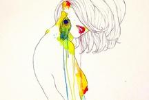 Sketching , Paintings / by Toei PixiOries