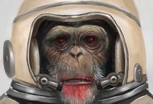Art: Illustration/Painting / Illustration, Paintings & Digital Art.   WARNING: Some Adult Content  / by Matt Arpen