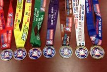 Our Finishers' Medals / My have they changed over the years! / by Mississauga Marathon