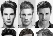Trendy Hairstyles - Men / Cool men's hairstyle and haircut ideas for the thirty-something guy. / by Photography Spark