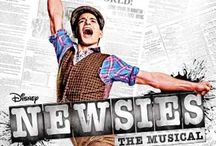 Music: Newsies / Newsies on a mission, kill the competition! / by Hannah Jenson