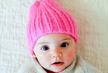 Lovely knits for baby / Knit and crochet for little ones  / by Sunday in color