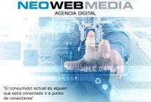 DISEÑO WEB, EMAIL MARKETING Y SOCIAL MEDIA. / by NEOWEBMEDIA Agencia Digital