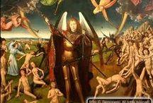 gothic FLEMISH MEMLINC  / 15th century 1435-1494 FLEMISH GOTHIC SCHOOL / by PIETER FLEERACKERS