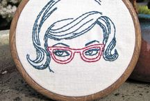Embroidery / Modern and hip embroidery that lets you be an artist! Free patterns. Needlepoint. Embroidery hoop.  / by Small Things With Love