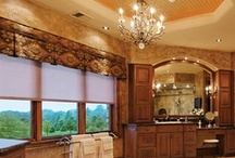 Motorized Shades / Lutron motorized roller shades create the perfect light for any space while moving silently and in unison with one another. / by Lutron Electronics