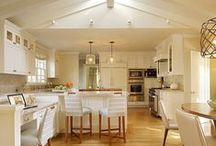 Kitchen Lighting and Décor / Make the heart of your home more versatile with the use of light control. From homework time to mealtime and entertaining guests, the kitchen requires different levels of light. / by Lutron Electronics