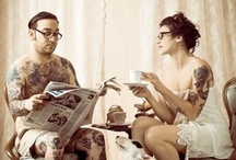 Inked Couples / Tattooed Couples to aww over! / by Rebel Circus
