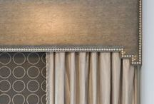 Soft Coverings / Drapery, window treatments, upholstery, bedding and pillow details. / by Laurie Chriest Interior Design