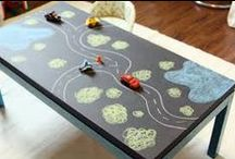 Pretend Play - Cars / Playdate ideas for playing cars / by Encourage Play