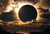 Eclipse & Lunar eclipse / 日蝕・月蝕 / by Nori