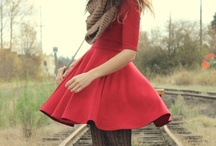 Ashley in Dresses / I hope to write a book someday. These are inspirations. / by Chels M.
