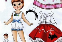 Paper Dolls Clip Art / by Lynette Larson Campbell