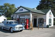 Old Gas Stations / by Lynette Larson Campbell