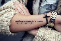 Tattoos & Neat stuff. / by Megan
