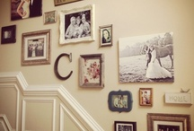 home/wall decor ideas / by Crystal Drake