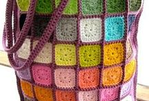 Granny Squares fascination! / by Connie Soares
