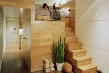 Small Spaces & Tiny Homes / by Tripp Bassett
