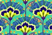 Pattern, Print, Tile, Fabric, Paper + More: / by Melissa Mariano