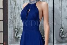 Quiet  Blue /  Quiet and elegant you deserves to be the spotlight ! / by ericdress
