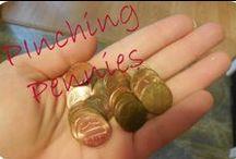 Pinching pennies / by Misty  @ Joy In The Journey