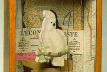Art: Collage, Mixed Media, and Assemblage-By Established Artists and Non-established (yet) Artists  / by Melissa Mariano