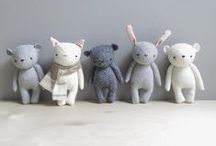 Fabric & Knitted Animals / by Jo Arlt