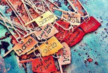 Stamped jewelry / by Misty Allison