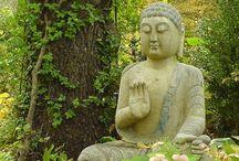 Zen, Bouddha et méditation / by Mélinda Gordon