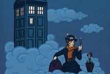 ohmygosh Doctor Who!!! / btw I have more cross overs on My Geekyness broad. check it out! :D / by Michaela Moll