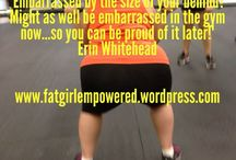 Motivation / by Fat Girl Empowered