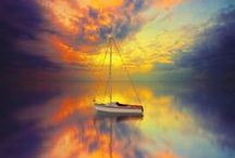 Row, row, or blow your boat... / Vessels that sail the seas..... / by Nartique Glass